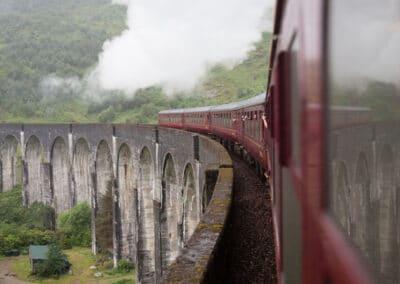 skotland udveksling tog